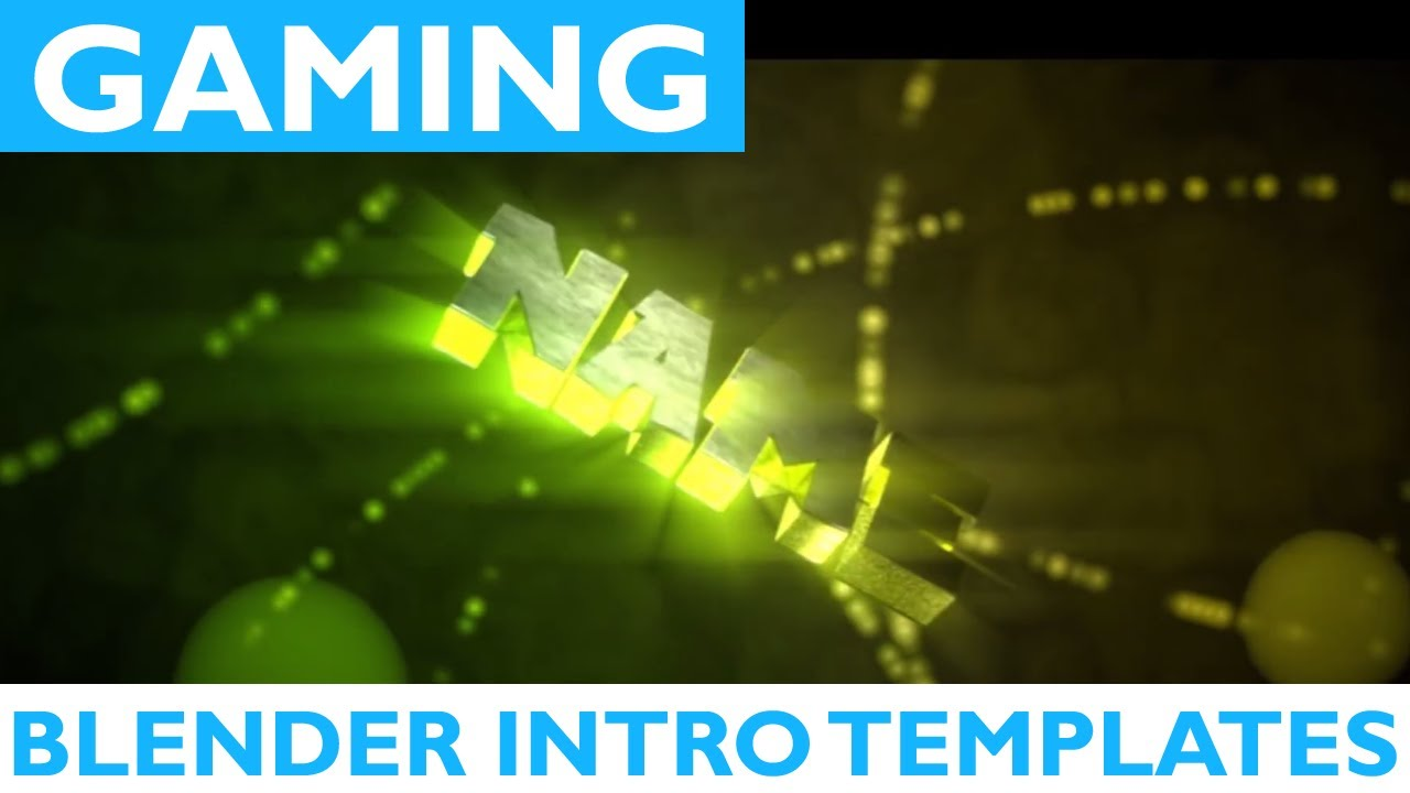 Top 25 Blender Gaming Intro Templates 2017 + Free Download 2D ...