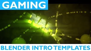 Top 25 Blender Gaming Intro Templates 2017 + Free Download 2D Chill Fast Render