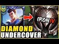 I HIRED A COACH AND PRETENDED TO BE AN IRON 4 JAYCE MAIN *PT. 1* THE COACH RAGE QUITS