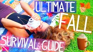 Fall Survival Guide! Essentials + How To Have A Tumblr Fall!