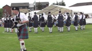 03 Police Scotland Fife Pipe Band 2014 British Championships at Meadow Park, Bathgate