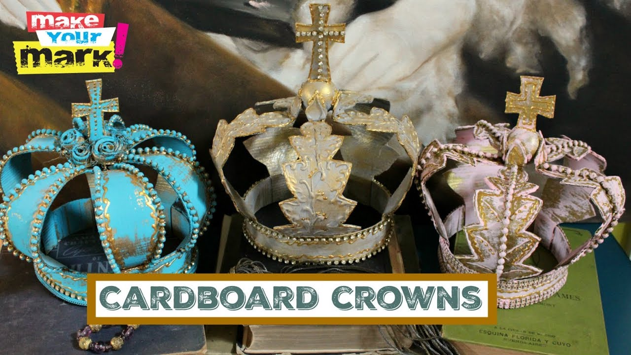 Cardboard Crowns - YouTube