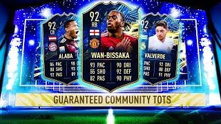 THIS IS WHAT I GOT IN 30x COMMUNITY TOTS GUARANTEED PACKS! #FIFA21 ULTIMATE TEAM