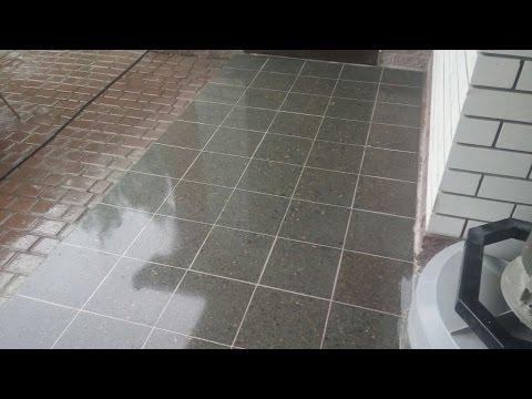 Восстановление и улучшение внешнего вида тротуарной плитки