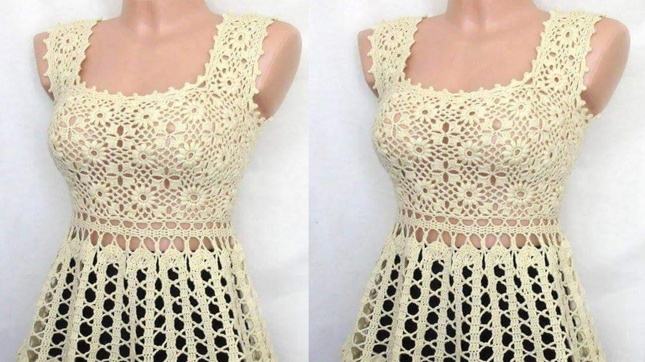 Tejidos a crochet ganchillo blusas para damas youtube for Cosas de ganchillo faciles