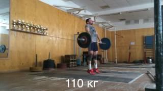 Концентрация и малые веса-залог хорошей техники.