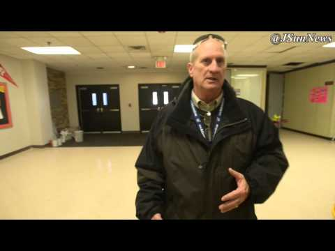 VIDEO: Tornado damage cleanup continues at Crockett County High School