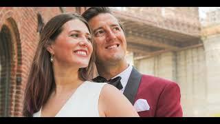 New York Wedding Cinematic Video Brooklyn Bridge Videographer NYC Engagement Manhattan Bridge