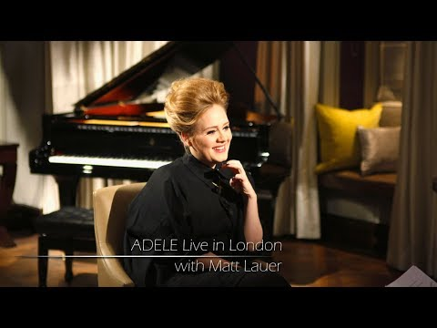 Adele Live In London (with Matt Lauer)