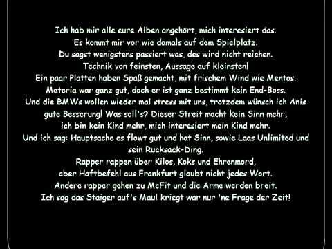 Haftbefehl ft  Sido   2010 Lyrics