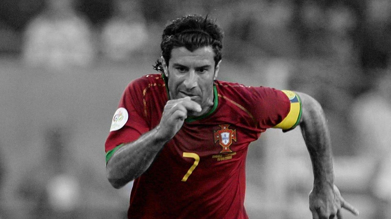 Luis Figo Portuguese Legend HD