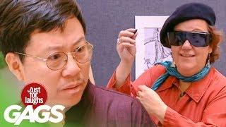 Blind Painter Prank