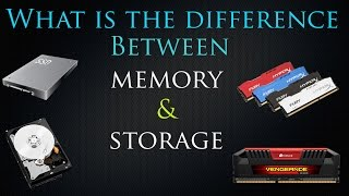 Memory Vs Storage ... Tech Explained #1