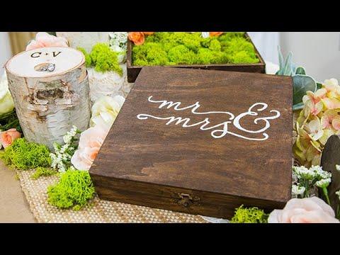 DIY Ring Bearer Boxes - Home & Family