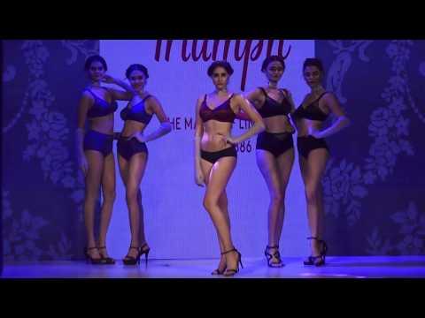 अकेले में ही देखे | Indian Girls in Lingerie | Triumph Fashion Show 2017 | Part 4