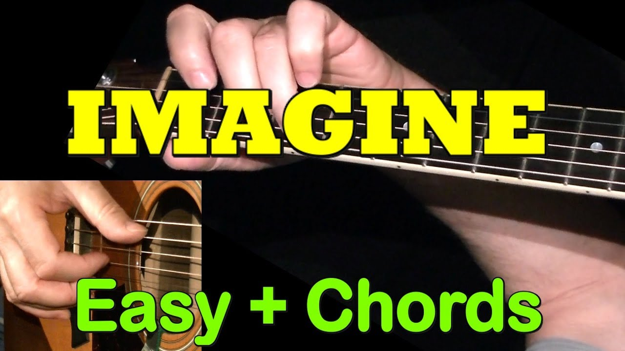 Imagine Easy Guitar Cover Tab Chords By Guitarnick Youtube
