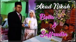 Akad NIkah Bella dan Saffrudin | Tujh Mein Rab Dikhta Hai (Cover Versi Sholawat)