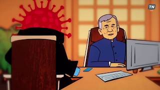 Политический маркетинг Встреча Минниханова с коронавирусом