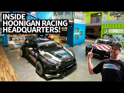 Ken Blocks 914hp Ford F-150 Hoonitruck AND Hoonigan Racing HQ Tour: Inside Look With Neil Cole!