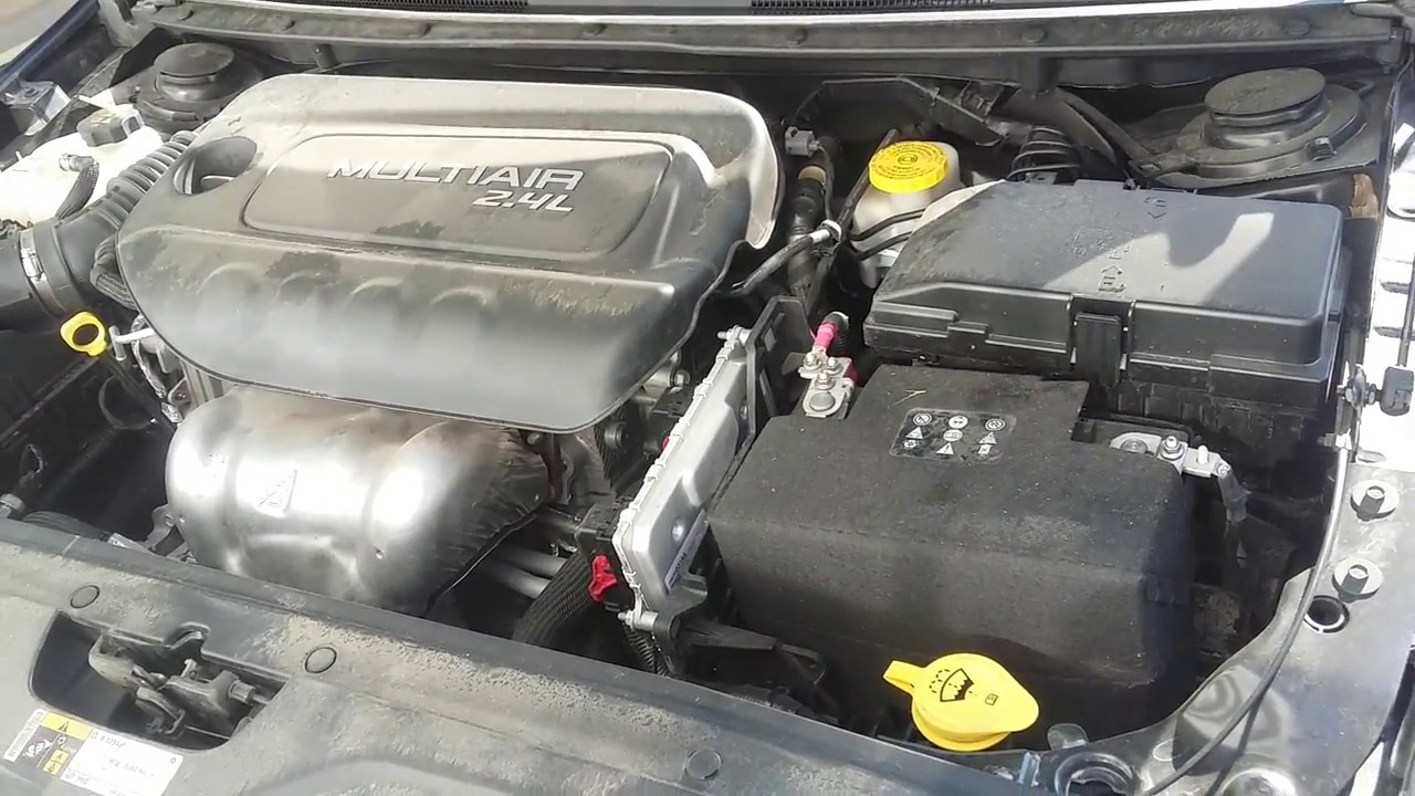 2016 Chrysler 200 2 4l Multiair Engine Normal Running