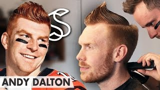 Andy Dalton hairstyle ★ Sporty NFL short hair ★ Men's hair inspiration