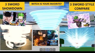 LEGENDARY 3 SWORD STYLE IN BLOX FRUIT ONE PIECE ROSE ONE PIECE AWAKENING WITCH IS THE BEST?