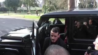 Roma, Florenzi arriva a Villa Stuart per gli esami al ginocchio