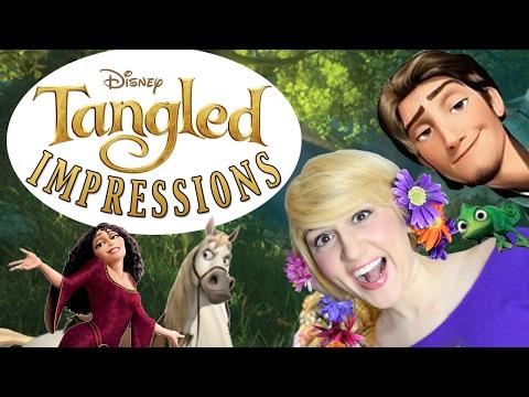 Disney TANGLED Impressions  Madi2theMax