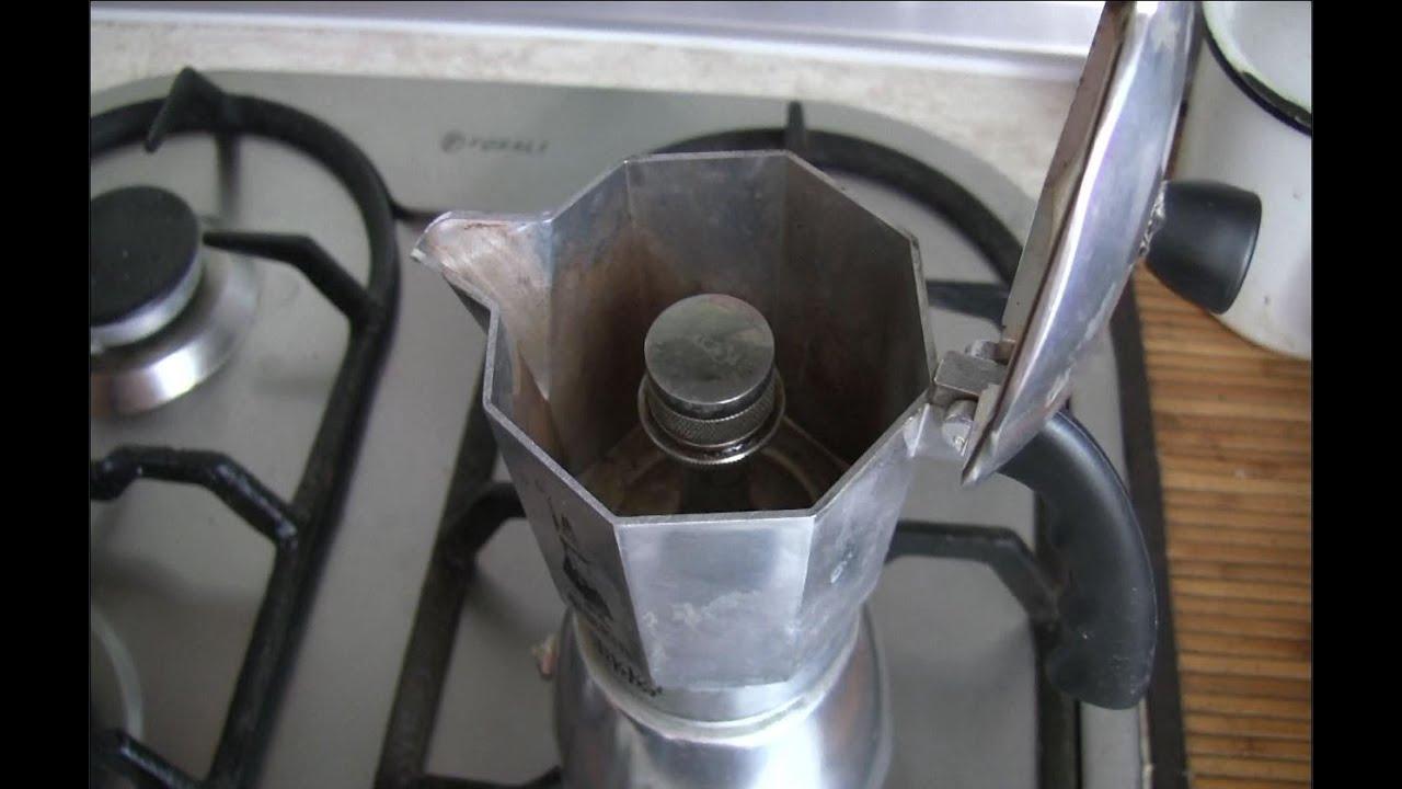 зачем клапан в гейзерной кофеварке
