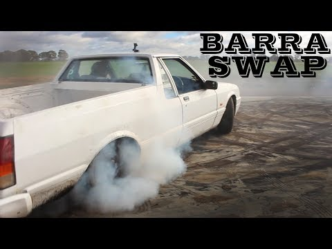 Ford barra engine swap build video xf ute