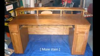 Home Made Studio Desk