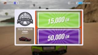 FH3 wheelspins just wow