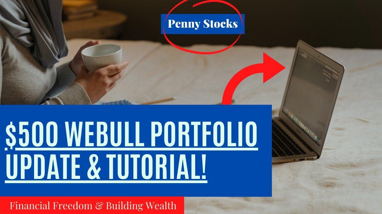Download Webull Portfolio Update   Penny Stocks   Webull Tutorial   $500 Small Account Challenge - F.I.R.E.