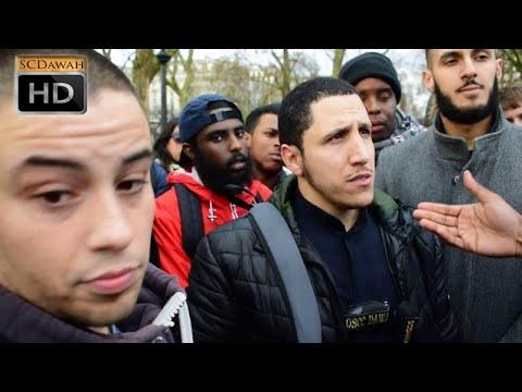 Free Gift! Shamsi Vs Christian   Speakers Corner   Hyde Park