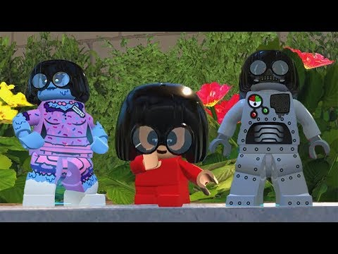 LEGO The Incredibles - All Characters in Edna Mode