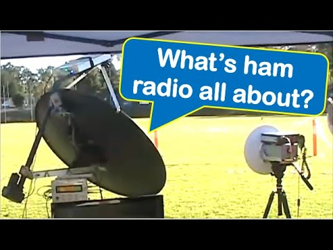 The Best of Amateur Radio: Come and Try day at Hahndorf, South Australia (21 May, 2017)