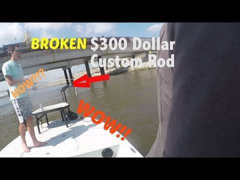 Broken $300 Custom Rod-Redfish And Speckled Trout