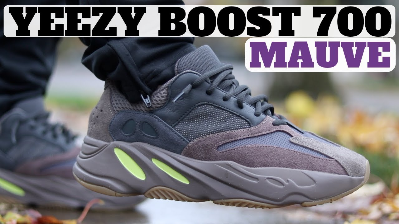 84ab25b11 YEEZY BOOST 700 MAUVE REVIEW   ON FEET! - YouTube