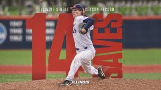 Joey Gerber » Illinois Single-Season Saves Record