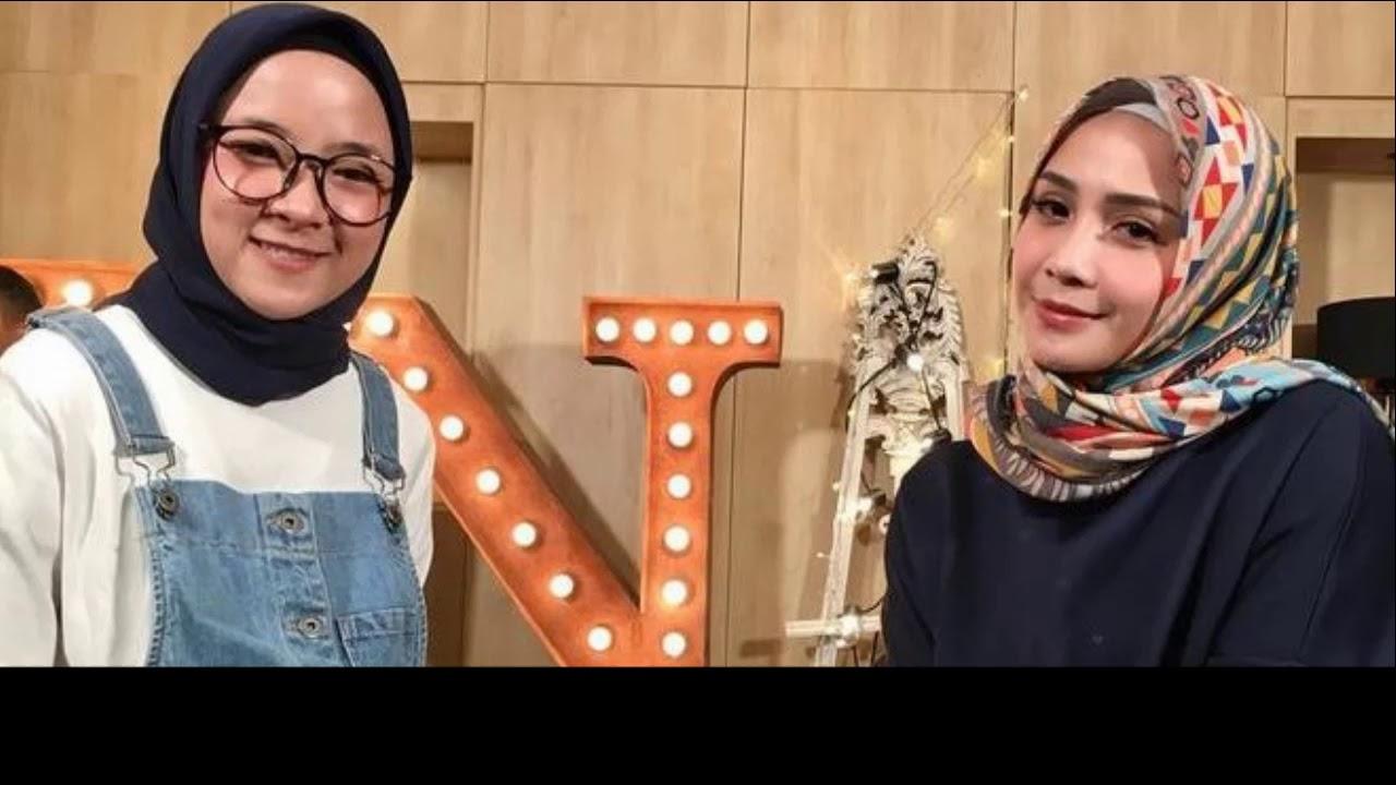 nagita dan nissa sabyan - ya maulana (lirik) - youtube
