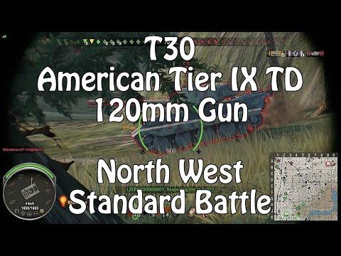 World Of Tanks || Xbox One || T30 || 120mm Gun