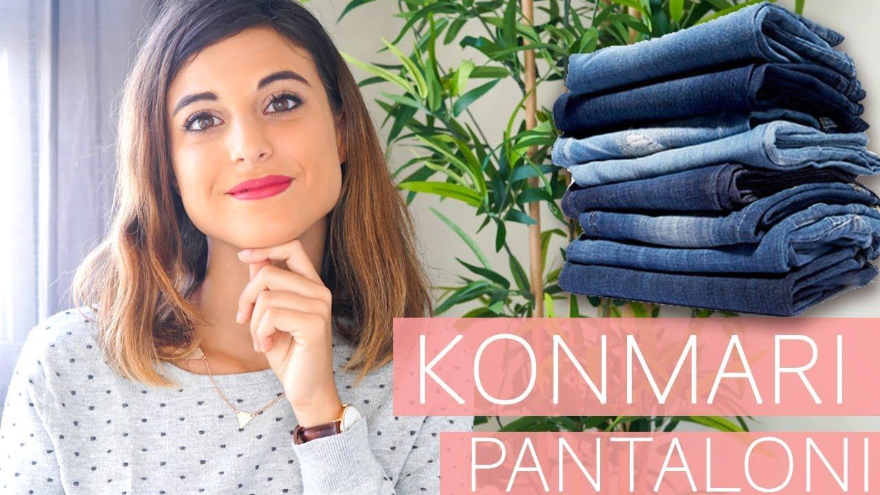 Come Sistemare I Jeans Nell Armadio.Segreti Per Risparmiare Spazio Come Piegare Indumenti Con Metodo