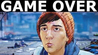All Game Over Scenes - The Walking Dead Season 3 A New Frontier (Episode 1-5)