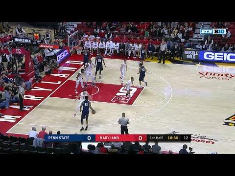 Big Ten Basketball: Penn State at Maryland