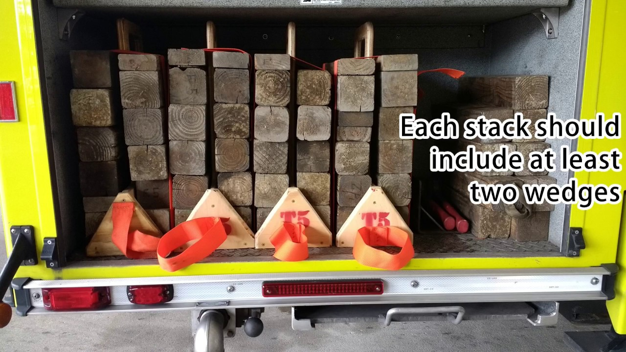 How To Make A Cribbing Carrier For Fire Apparatus Youtube