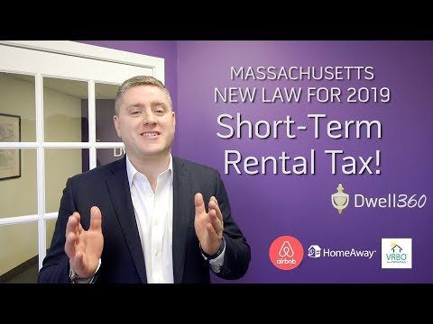 New Short Term Rental Law in MA - Presented by John Lynch of Dwell360