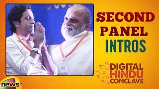 Digital Hindu Conclave LIVE | Second PANEL Introductions | Bharat Niti | Hyderabad | Mango News