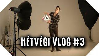 Hétvégi Vlog #3| Meglepi Buli| Fotózás| Szabó Kristóf