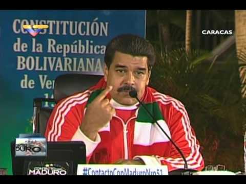 En Contacto con Maduro #51, parte 16/17, Consejo Presidencial Indígenas, habla Juan García