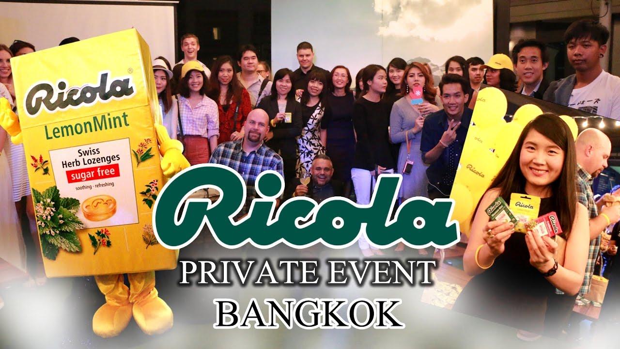 ครั้งแรกในไทย : ปาร์ตี้ลูกอมสมุนไพร Ricola @Hotel Muse Bangkok